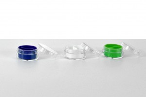 Dab Jars ( Silicone with plastic cover)