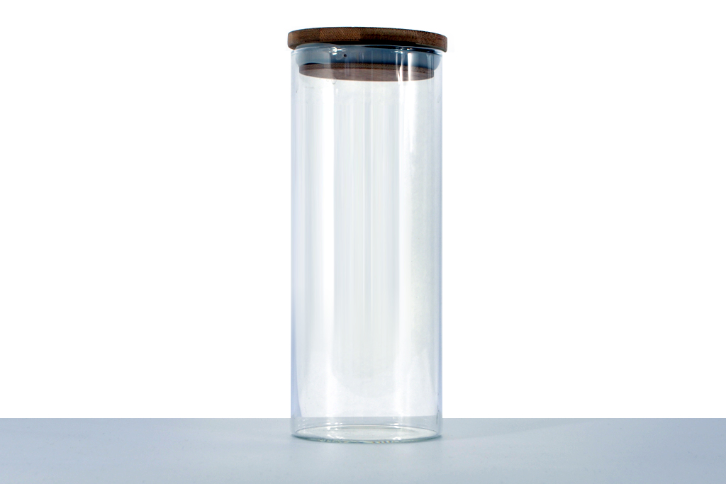 Premium Glass Jar with wooden cap