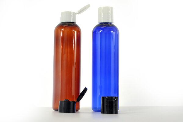 Pet Plastic cosmo round bottle 250ml