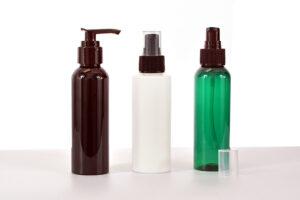 Pet Plastic Bottles cosmo Round 120 ml