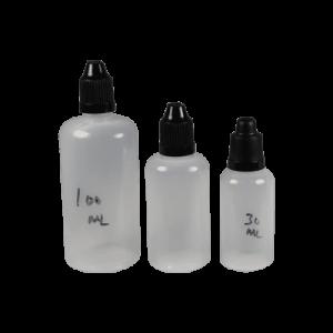 PET Squeeze Plastic Bottles