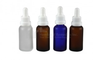 Frosted round glass bottles with glass droppers 330pcs