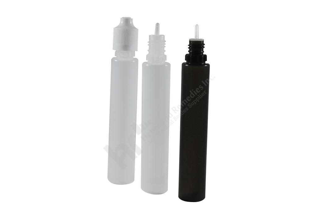 Unicorn bottles/ Pen Style LDPE bottles with CRC T/E cap