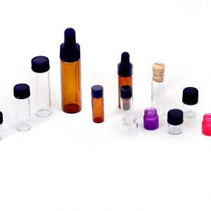 Glass Vials (Amber/ Clear/ Rainbow)