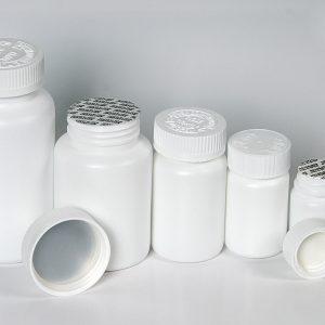 HDPE pill Bottles with Cap